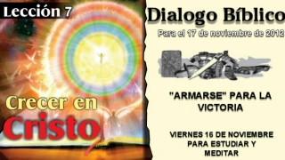 DIALOGO BÍBLICO – VIERNES 16 DE NOVIEMBRE 2012 – PARA ESTUDIAR Y MEDITAR