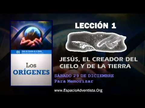 Lección 1 – Sábado 29 de diciembre 2012 – Para Memorizar