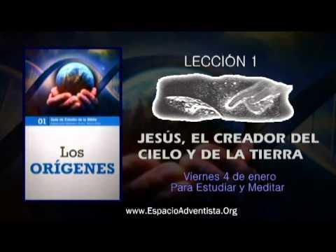 Lección 1 – Viernes 4 de enero 2013 – Para Estudiar y Meditar