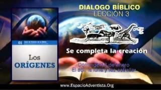 Dialogo Bíblico – Domingo 13 de enero 2013 – El sol, la luna y las estrellas
