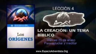Lección 4 – Viernes 25 de enero 2013 – Para estudiar y meditar
