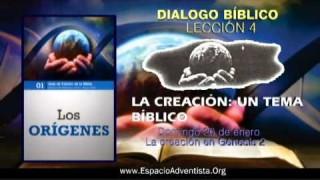 Dialogo Bíblico – Domingo 20 de enero 2013 – La creación en Génesis 2