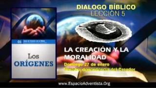 Dialogo Bíblico – Domingo 27 de enero 2013 – Nuestra dependencia del Creador