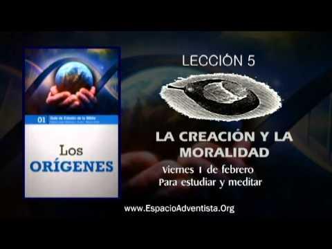 Lección 5 – Viernes 1 de febrero 2013 – Para estudiar y meditar