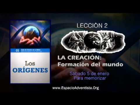 Lección 2 – Sábado 5 de enero 2013 – Para memorizar