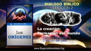 Dialogo Bíblico – Martes 8 de enero 2013 – Creación del cielo