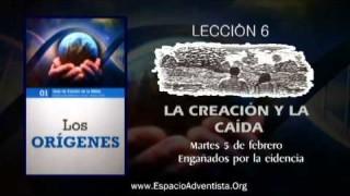 Lección 6 – Martes 5 de febrero 2013 – Engañados por la evidencia