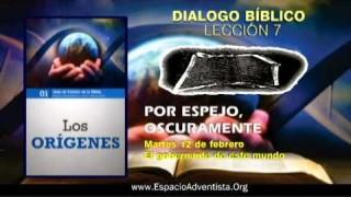 Dialogo Bíblico – Martes 12 de febrero 2013 – El gobernante de este mundo