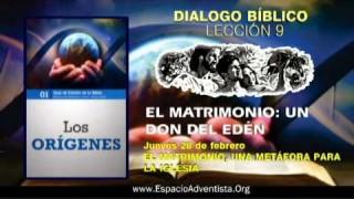 Dialogo Bíblico – Jueves 28 de febrero 2013 – El matrimonio, una metáfora para la iglesia