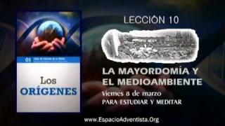 Lección 10 – Viernes 8 de marzo 2013 – Para estudiar y meditar