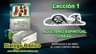Dialogo Bíblico – Miércoles 3 de abril 2013 – El caso contra Israel