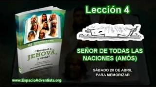 Lección 4 – Sábado 20 de abril 2013 – Para memorizar – Escuela Sabática 2013