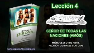 Lección 4 – Miércoles 24 de abril 2013 – Reunión de Israel con Dios – Escuela Sabática 2013