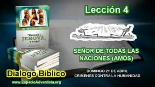 Dialogo Bíblico – Domingo 21 de abril 2013 – Crímenes contra la humanidad