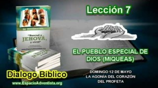 Dialogo Bíblico – Domingo 12 de mayo 2013 – La agonía del corazón del Profeta