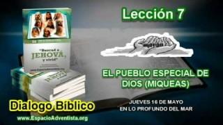 Dialogo Bíblico – Jueves 16 de mayo 2013 – En lo profundo del mar