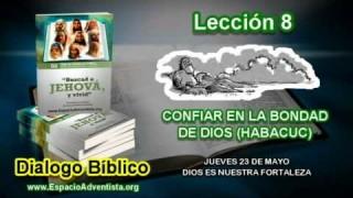 Dialogo Bíblico – Jueves 23 de mayo 2013 – Dios es nuestra fortaleza