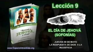 Lección 9 – Jueves 30 de mayo 2013 – La respuesta de Dios a la injusticia – Escuela Sabática