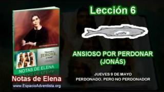 Notas de Elena – Jueves 9 de mayo 2013 – Perdonado, pero no perdonador