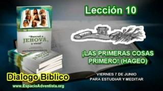 Dialogo Bíblico | Viernes 7 de junio 2013 | Para estudiar y meditar