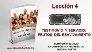 Lección 4   Domingo 21 de julio 2013   La comisión y la promesa de Jesús al partir