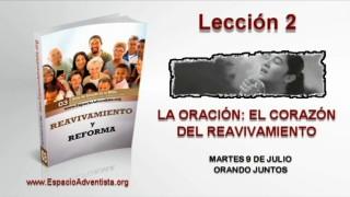 Lección 2 – Martes 9 de julio 2013 – Orando juntos