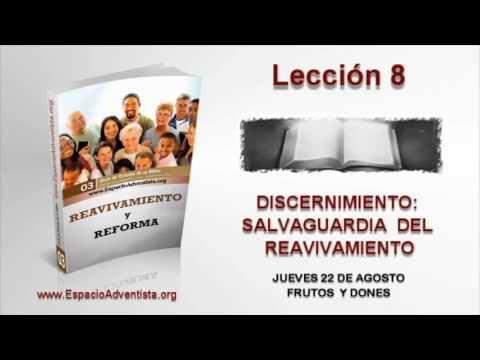 Lección 8   Jueves 22 de agosto 2013   Frutos y Dones