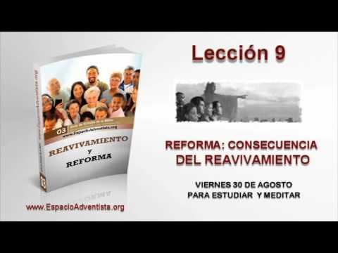 Lección 9   Viernes 30 de agosto 2013   Para estudiar y meditar