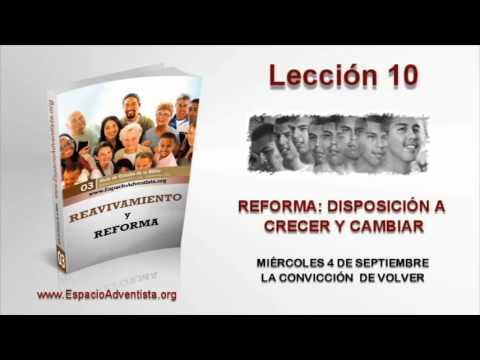 Lección 10   Miércoles 4 de septiembre 2013   La convicción de volver