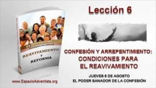 Lección 6 | Jueves 8 de agosto 2013 | El poder sanador de la confesión | Escuela Sabática 2013
