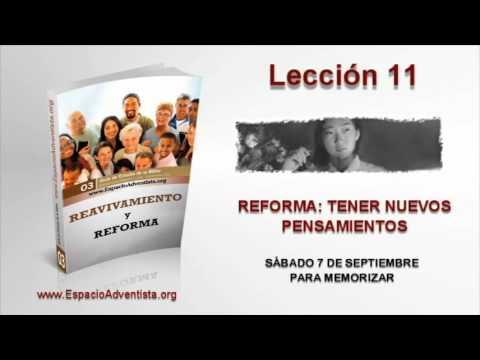 Lección 11   Sábado 7 de septiembre 2013   Para memorizar