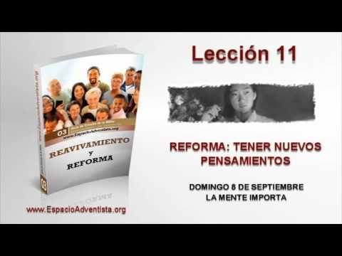 Lección 11   Domingo 8 de septiembre 2013   La mente importa
