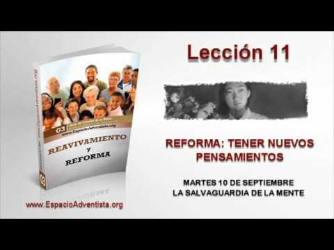 Lección 11   Martes 10 de septiembre 2013   La salvaguardia de la mente