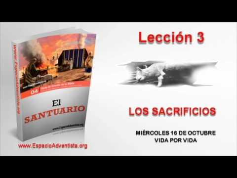 Lección 3 | Miércoles 16 de octubre 2013 | Vida por vida