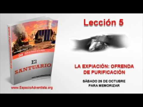 Lección 5 | Sábado 26 de octubre 2013 | Para memorizar