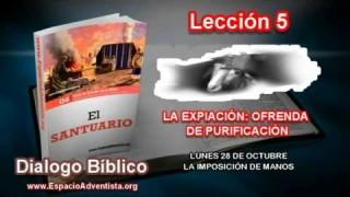 Dialogo Bíblico | Lunes 28 de octubre 2013 | La imposición de manos