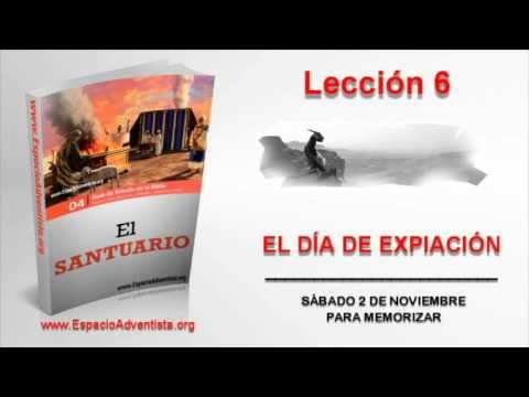 Lección 6 | Sábado 2 de noviembre 2013 | Para memorizar