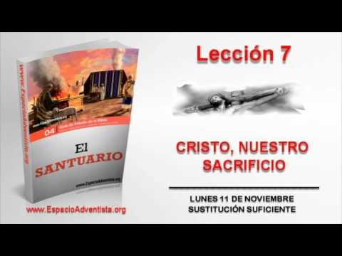 Lección 7 | Lunes 11 de noviembre 2013 | Sustitución suficiente