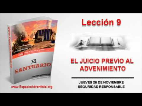 Lección 9 | Jueves 28 de noviembre 2013 | Seguridad responsable