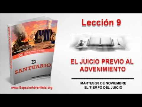 Lección 9 | Martes 26 de noviembre 2013 | El tiempo del juicio