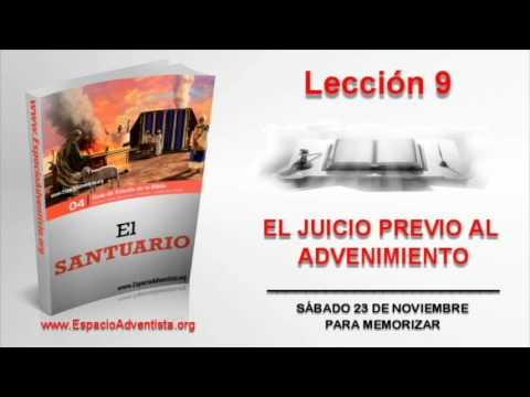 Lección 9 | Sábado 23 de noviembre 2013 | Para memorizar