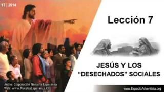Lección 7 | Jueves 13 de febrero 2014 | Publicanos y pecadores