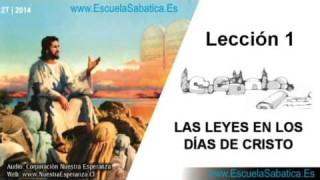 Lección 1 | Jueves 3 de abril 2014 | La Ley Moral | Escuela Sabática 2014
