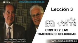 Dialogo Bíblico   Resumen   Cristo y las tradiciones religiosas