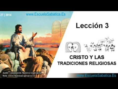 Lección 3   Domingo 13 de abril 2014   La Cátedra de Moisés   Escuela Sabática