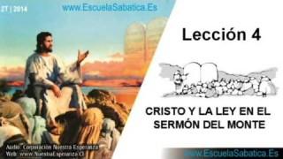 Lección 4 | Miércoles 23 de abril 2014 | Promesas, promesas… (Mat. 5: 33-37) | Escuela Sabática