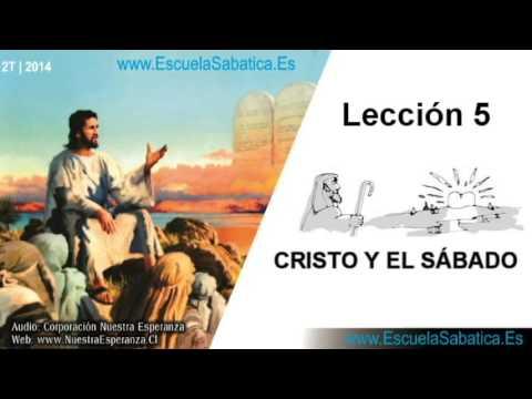 Lección 5   Jueves 1 de mayo 2014   Una creación nueva