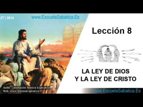 Lección 8   Domingo 18 de mayo 2014   La Ley y los Profetas   Escuela Sabática