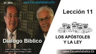 Dialogo Bíblico | Vienes 13 de junio 2014 | Para estudiar y meditar | Escuela Sabática