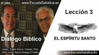 Dialogo Bíblico   Lunes 14 de julio 2014   El Espíritu Santo es una persona   Escuela Sabática